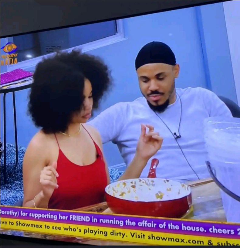 BBNaija: Allow me to pull my clothes, see what Ozo and Nengi caught doing