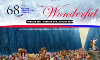 RCCG 68th Annual Convention 2020 Live Streaming