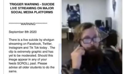 TikTok struggling to contain spread of viral video spotted a man committing suicide