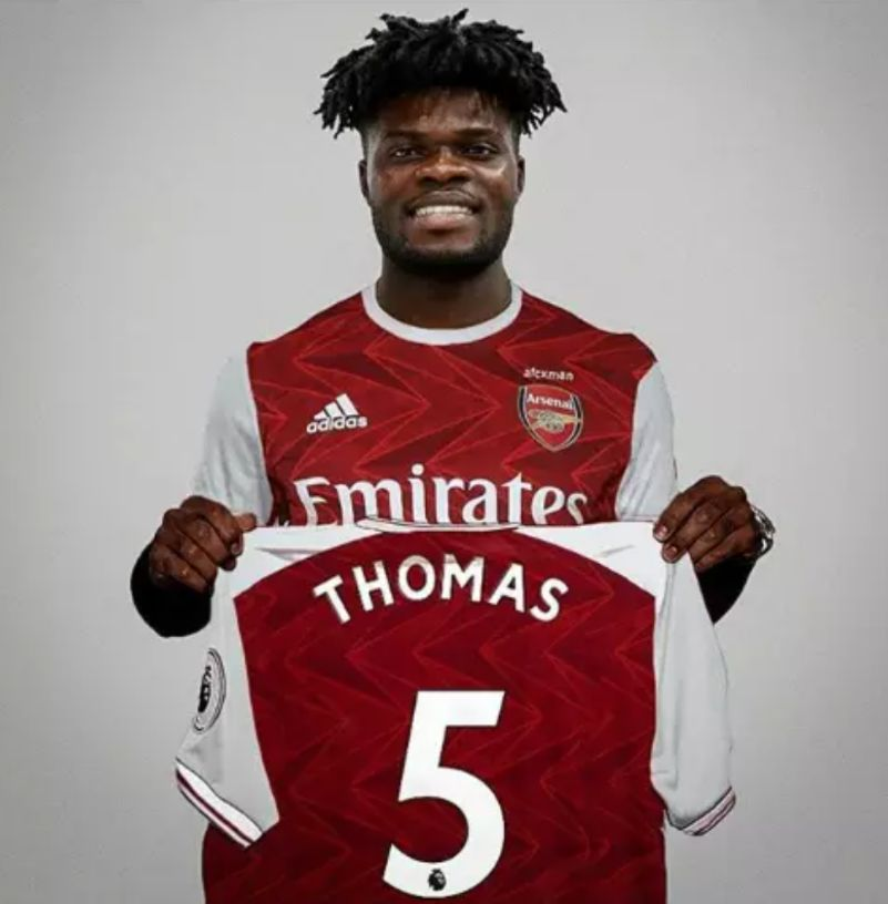 Arsenal Completes Signing of Thomas Partey from Athletico Madrid