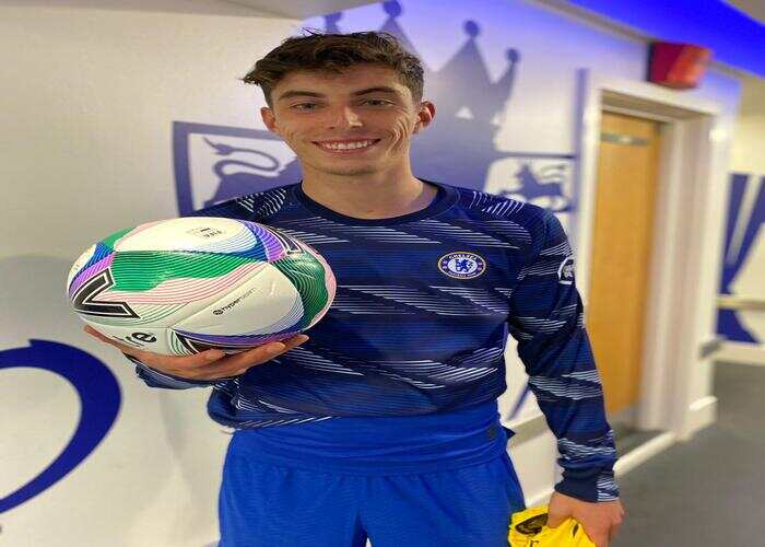 See Kai Havertz post on Twitter after Chelsea vs Barnsley Carabao Cup game