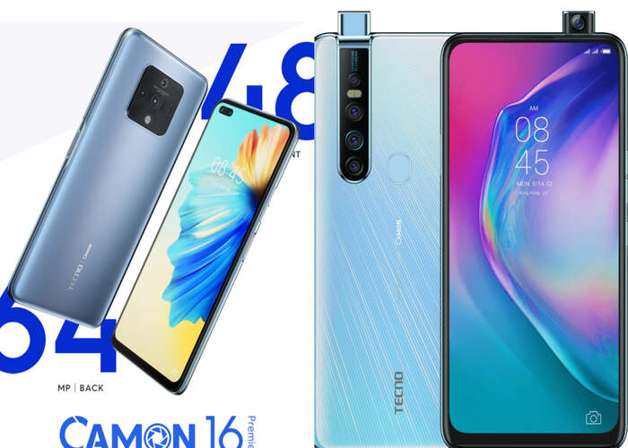 Tecno Camon 16 Premier vs Tecno Camon 15 Premier Comparison, Specs and Price in Nigeria