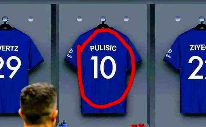 Chelsea fans react as the club reveals the jersey number holder