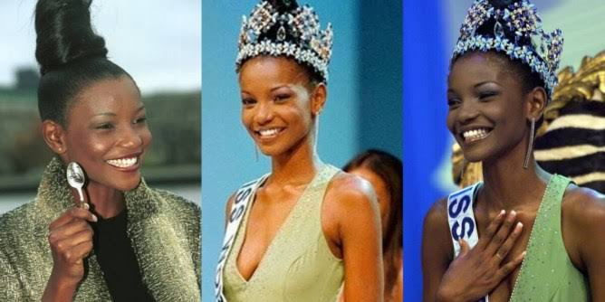 Mixed reactions from Nigerians as Google rated Agbani Darego, as the ugliest Miss World' winner