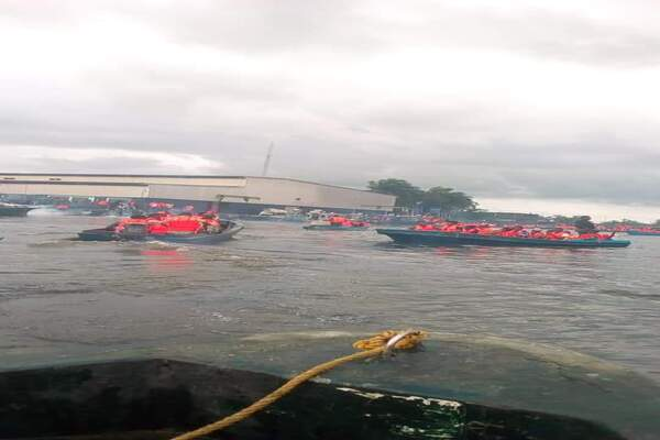 BREAKING: Boat Conveying INEC Officers and Electoral Materials Capsizes in Ilaje, Ondo State