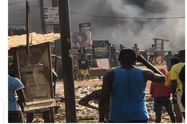 BREAKING: Igando, Ikotun police stations set ablaze