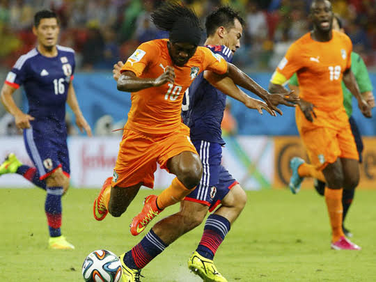 Watch Japan vs Ivory Coast Live Streaming Free on TV