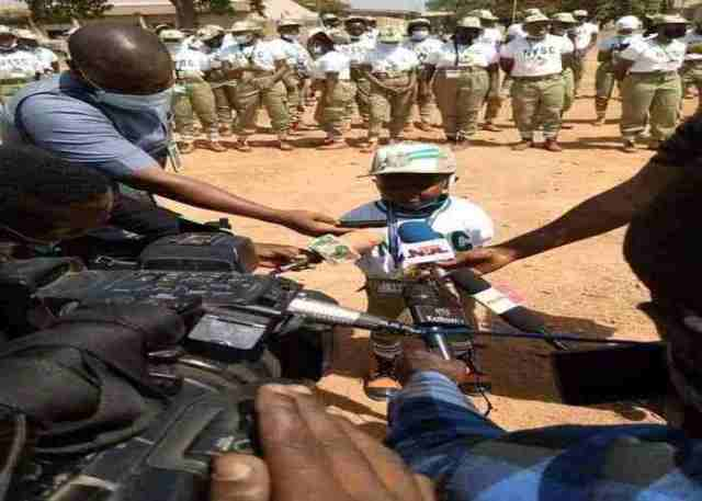 Meet the youngest and shortest Abuja Corper Abu in Nigeria (Photos)