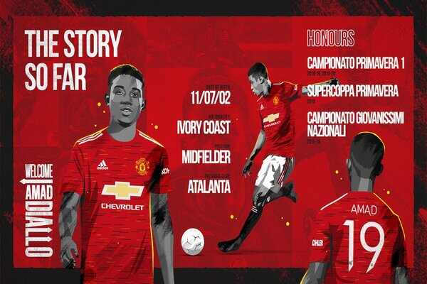 Amad Diallo makes Ole Gunnar Solskjaer's squad for his Man United's debut against Watford