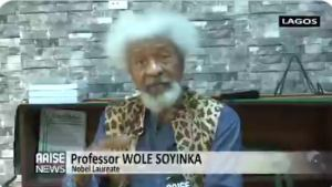 """""""I don't believe Buhari is in charge and things get to this level"""" - Wole Soyinka fire back at Buhari"""