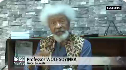 """I don't believe Buhari is in charge and things get to this level"" - Wole Soyinka fire back at Buhari"