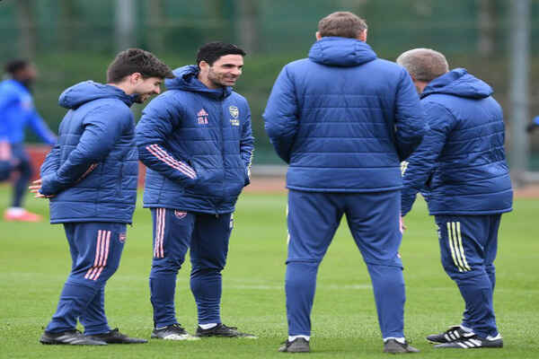 Mikel Arteta Releases Arsenal's 25-man Squad To Face Olympaicos
