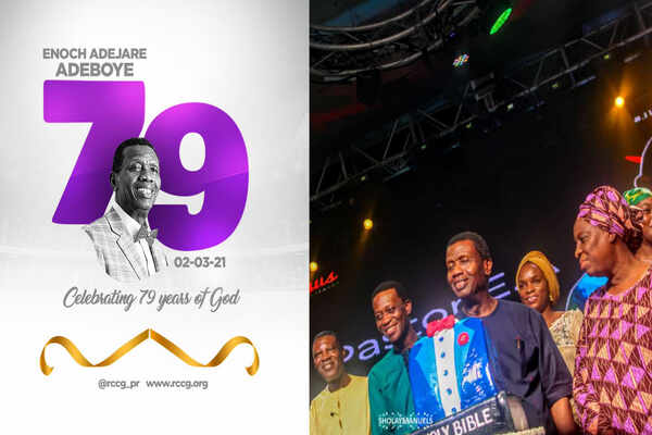 Pastor E.A Adeboye marks his 79th birthday