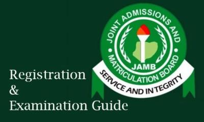 JAMB commences UTME 2021 registration as examination date confirms