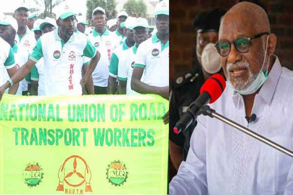 BREAKING: Gov. Akeredolu orders indefinite suspension of NURTW activities in Ondo