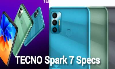 TECNO Spark 7 Specs, Features, Price And Launch Date