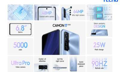TECNO Camon 17 Specifications and Price in Nigeria