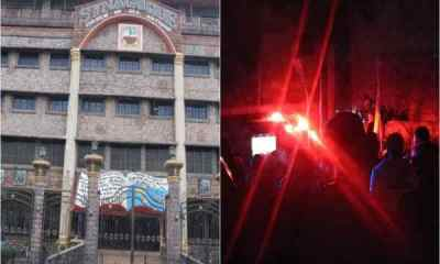 Synagogue Church on fire, 3 days before TB Joshua burial