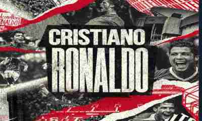 Manchester United complete signing of Cristiano Ronaldo from Juventus