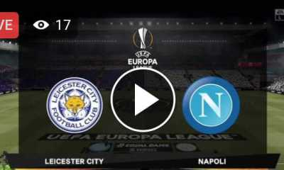 Watch Leicester City vs Napoli Live Streaming
