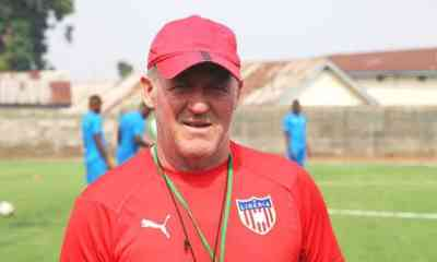 Nigeria vs Liberia: We are not satisfy with what is on ground - Peter Butler