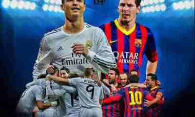 Barcelona vs Real Madrid Lineups: Messi, Ronaldo out of El Clasico