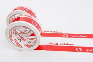 Vodafone nyomtatott szalagok