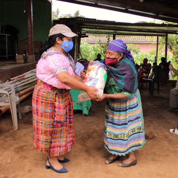 Food Package Delivery in Cosibal, Guatemala