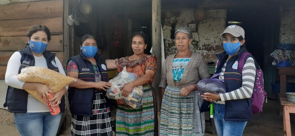 Food Kit Delivery in Panchum, Joyabaj, Guatemala