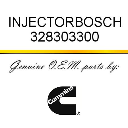 328303300 INJECTOR,BOSCH (3283033, 3283033RX) fit CUMMINS