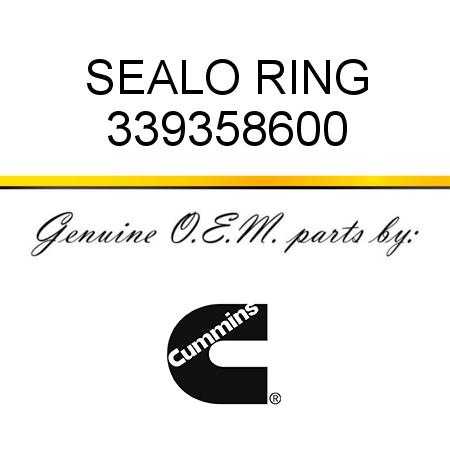 339358600 SEAL,O RING (3393586) fit CUMMINS G38, G50, K19