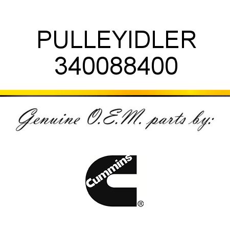 340088400 PULLEY,IDLER (3400884) fit CUMMINS 4B3.9, 6B5.9