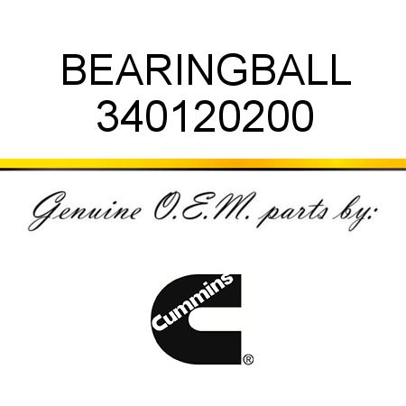 340120200 BEARING,BALL (3401202) fit CUMMINS 4B3.9, 6B5.9
