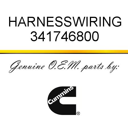 341746800 HARNESS,WIRING (3417468) fit CUMMINS ISM CM570