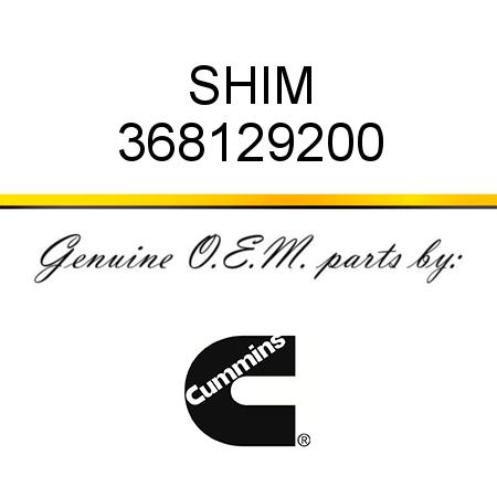 368129200 SHIM (3681292) fit CUMMINS 4B3.9, 6B5.9, B GAS