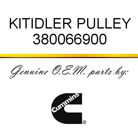 380066900 KIT,IDLER PULLEY (3800669) fit CUMMINS 4B3.9