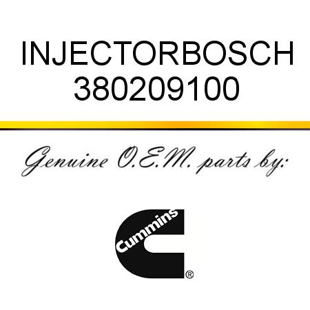 380209100 INJECTOR,BOSCH (3802091, 3802091RX) fit CUMMINS