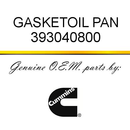 393040800 GASKET,OIL PAN (3930408) fit CUMMINS 4B3.9, 6B5