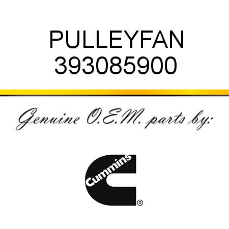 393085900 PULLEY,FAN (3930859) fit CUMMINS 4B3.9, 6B5.9, B