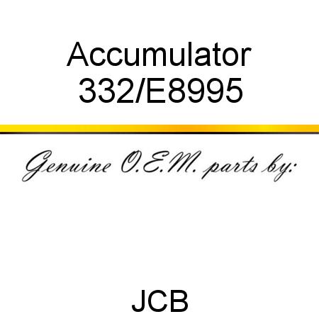 332/E8995 Accumulator fit JCB 3CXSPC, 4CXPC, 3CX, 215/3CX