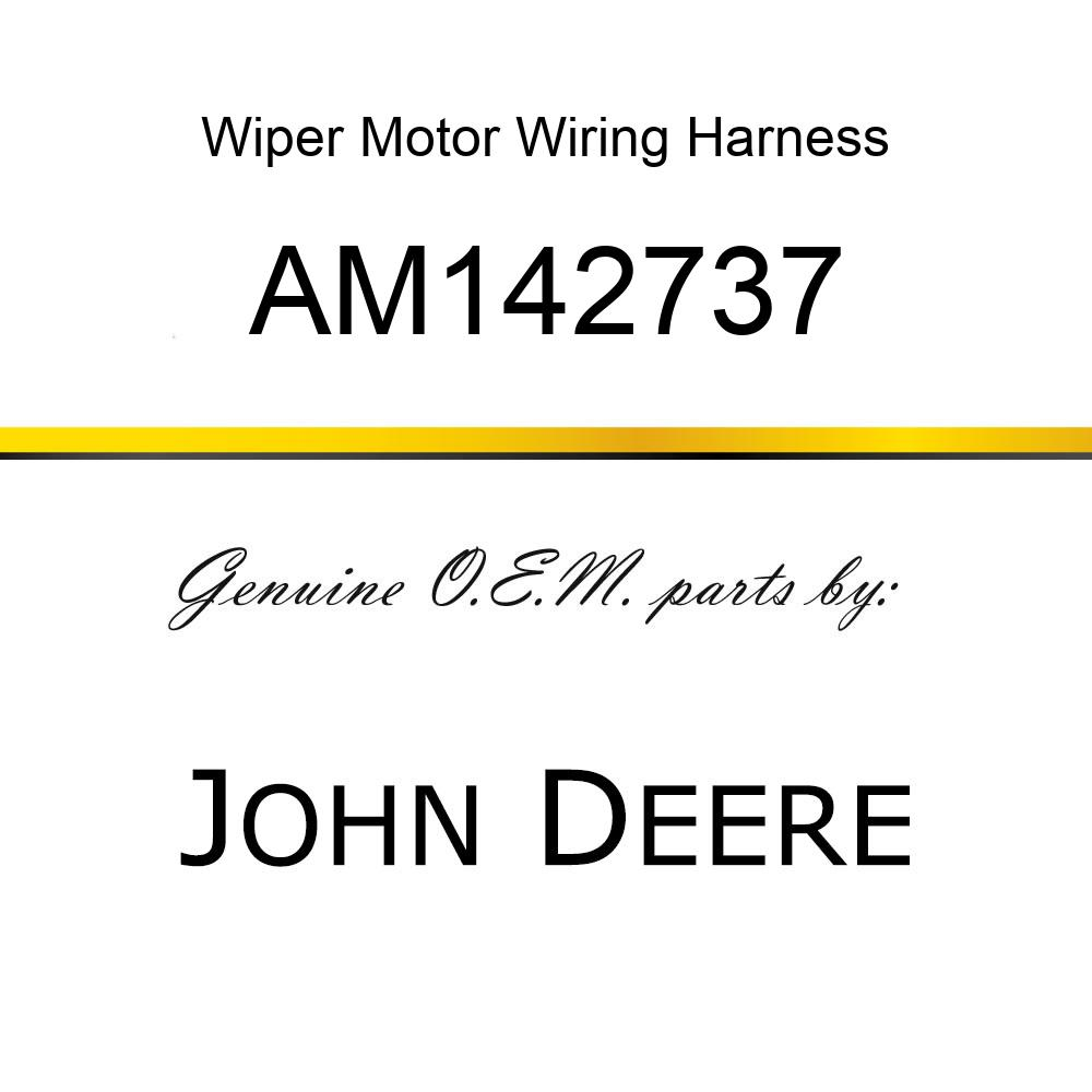 Wiper Motor Wiring Harness : 26 Wiring Diagram Images
