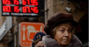 Russia's central bank increased interest rates