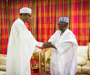 Governor of Nassarawa State Alh Tanko Al-Makura led a delegation of his Traditional Council Chiefs to pay a courtesy visit on President-elect General Muhammadu Buhari