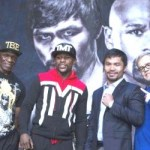 Mayweather, Pacquiao trade compliments not shots