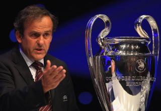 Miche Platini, UEFA boss