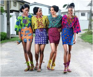 Latest Lace And Ankara in Nigeria Fashion