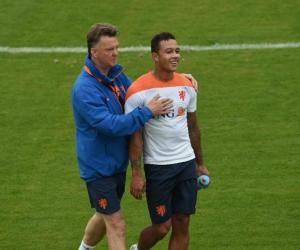 Louis van Gaal and Depay
