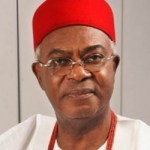 Obiano felicitates with Obi of Onitsha at 74