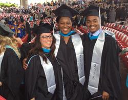 Maureen and her fellow graduands
