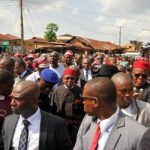 Heroic welcome for former Governor Theodore Orji